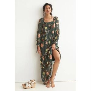NWT Anthropologie Evelin Maxi Dress Floral